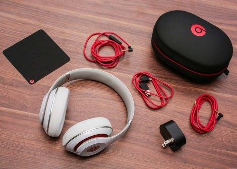 Beats Studio 2013 dentro da caixa