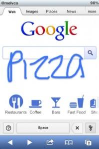 google reconhecimento de escrita