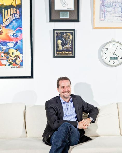 Andrew House, presidente e CEO do grupo Sony Computer Entertainment