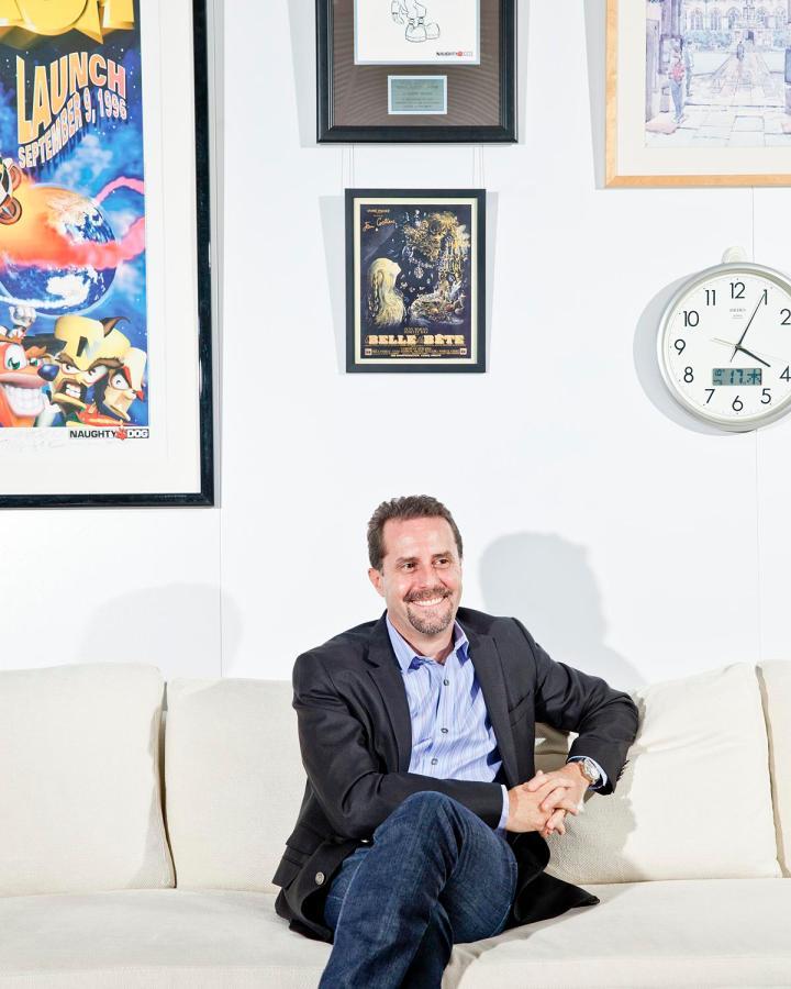 Andrew House, presidente e CEO do grupo Sony Computer Entertainment