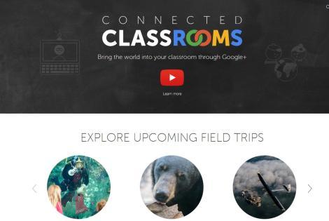 As viagens de campo acontecem em momentos específicos, os professores podem checar o calendário da Google para saber mais.