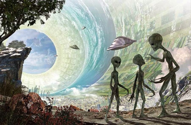 aliens - alien world - planet - reality