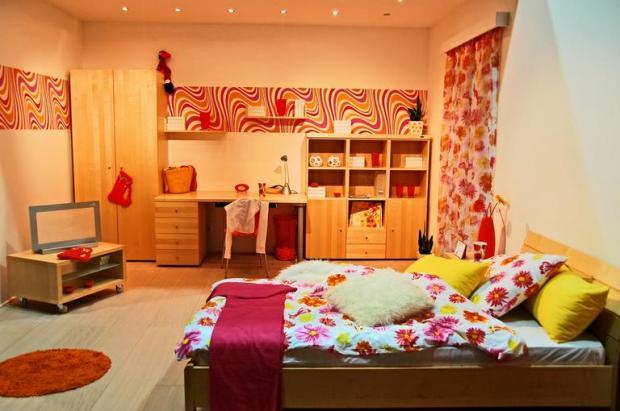 decoração quarto organizado