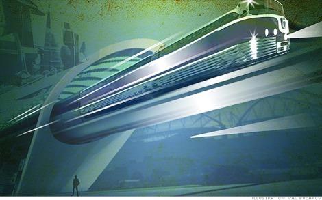 trens que levitam