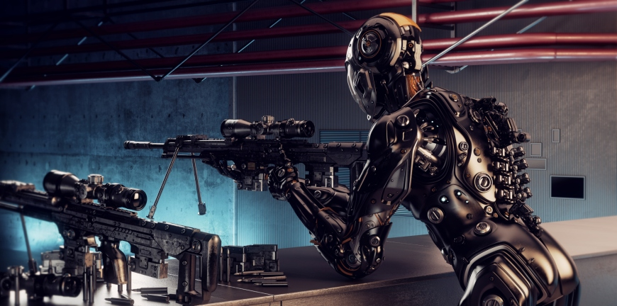 Robô Sniper