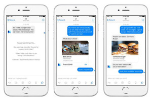 Inteligência artificial do Facebook, a M, será lançada no Messenger