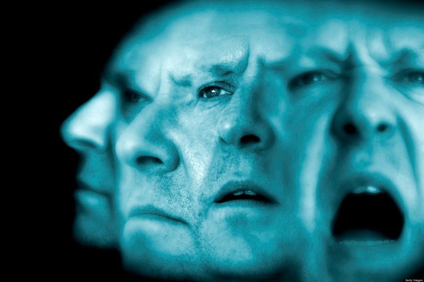 Schizophrenia,conceptual image
