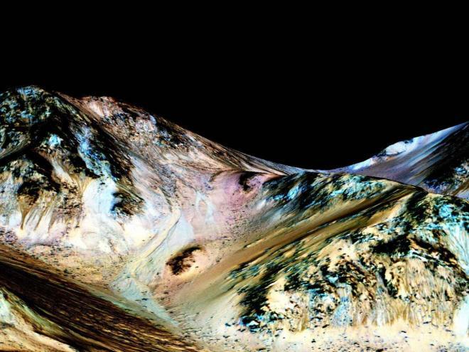 Agua em Marte