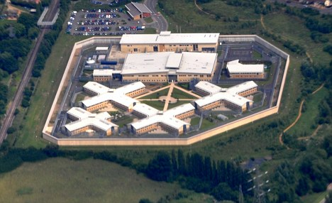 prisão Bronzefield em Surrey