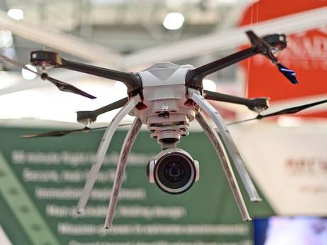 Drone na exposição