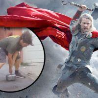 Thor da vida real, apenas um homem pode erguer esse martelo