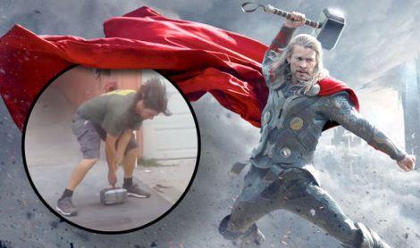 Martelo de Thor da vida real