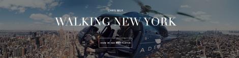wlking new york