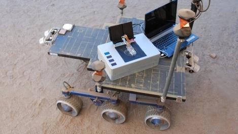 Rover de testes Laptop Quimico
