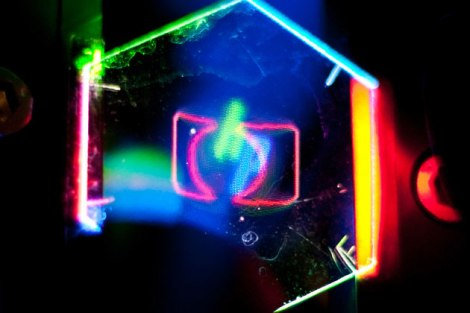 display holográfico para dispositivos móveis