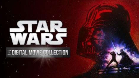 Star Wars Coleção digital de filmes