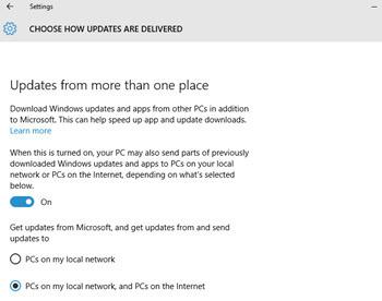 tela de update do windows