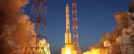 Agência Espacial Federal Russa - lançamento de um foguete