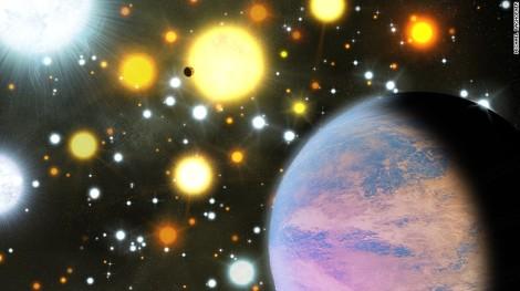 Os astrônomos descobriram dois planetas menos de três vezes o tamanho da Terra orbitando estrelas como o sol em um conjunto estelar lotados cerca de 3.000 anos-luz da Terra, na constelação Cygnus.