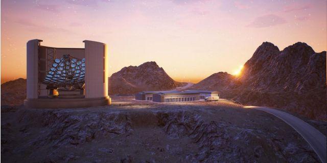 telescópio Colossus, o sucessor do telescópio PLANETS