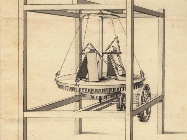 um engenheiro mecânico cético chamado Robert Fulton desafiou Redheffer, alegando que ele poderia encontrar o mecanismo de manter a máquina em movimento.