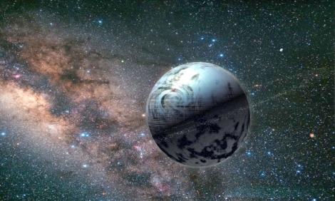 esfera de Dyson é uma megaestrutura hipotética originalmente descrita por Freeman Dyson