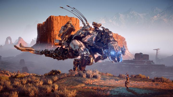 Horizon Zero dawn natureza e máquina colidem