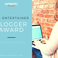 The Entertainer Blogger Award - Suprimatec