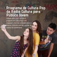 Programa de Cultura Pop da Rádio Cultura para Público Jovem